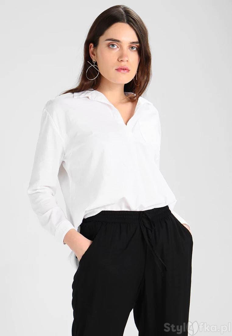 białe bluzki wizytowe
