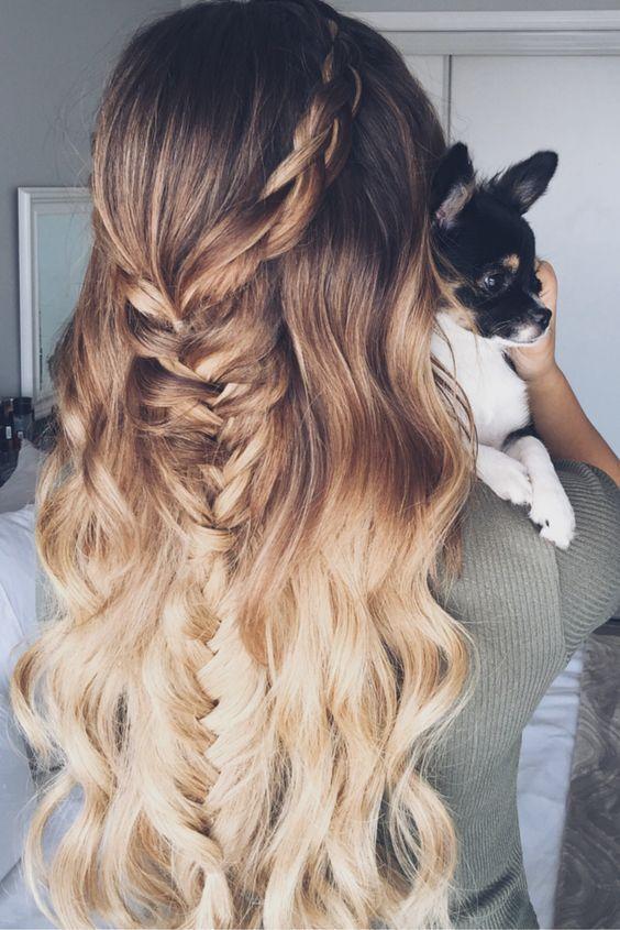Włosy Do Ramion Ombre Niezmiennie Trendy Galeria